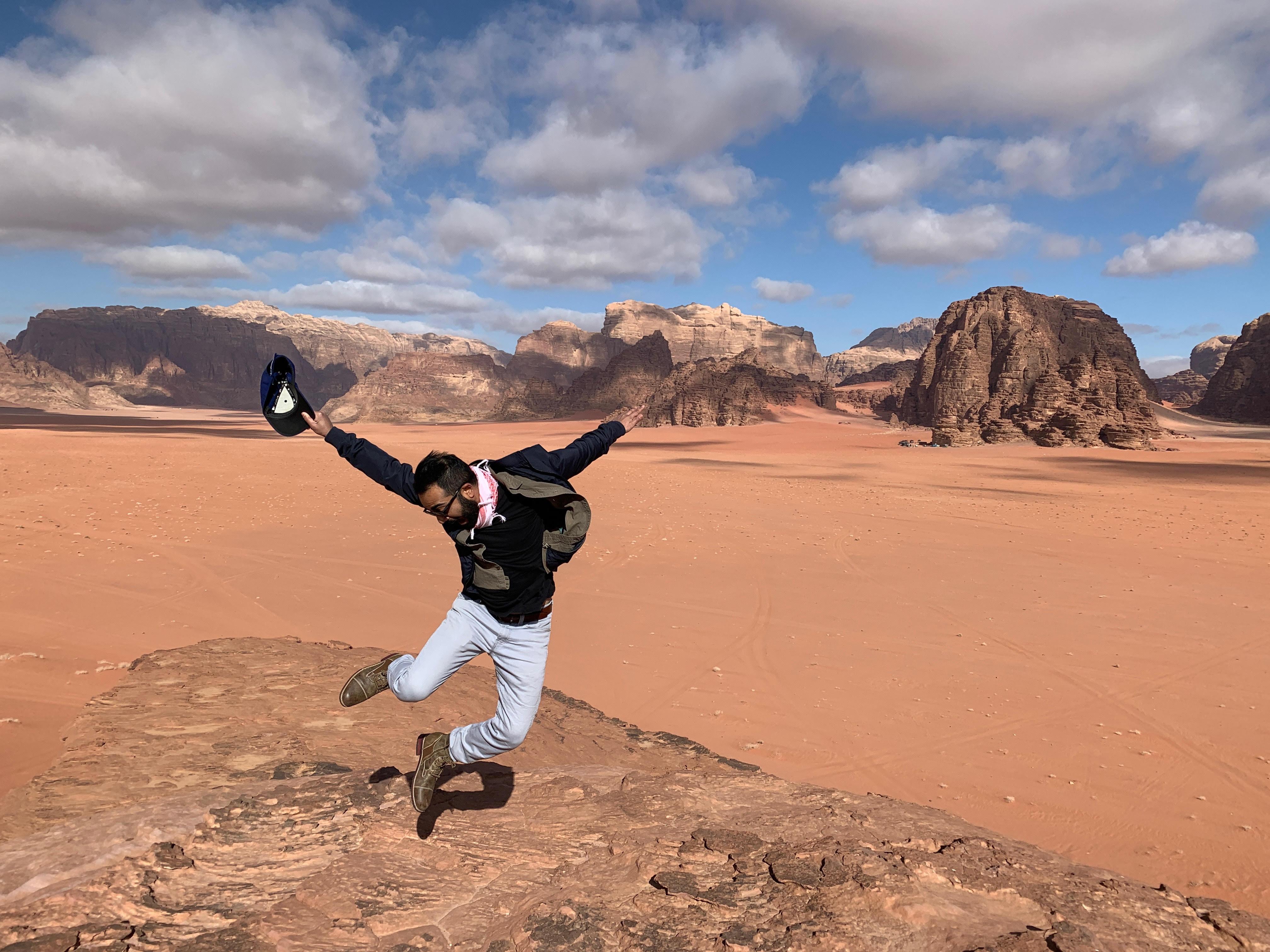 Wadi Rum Jump