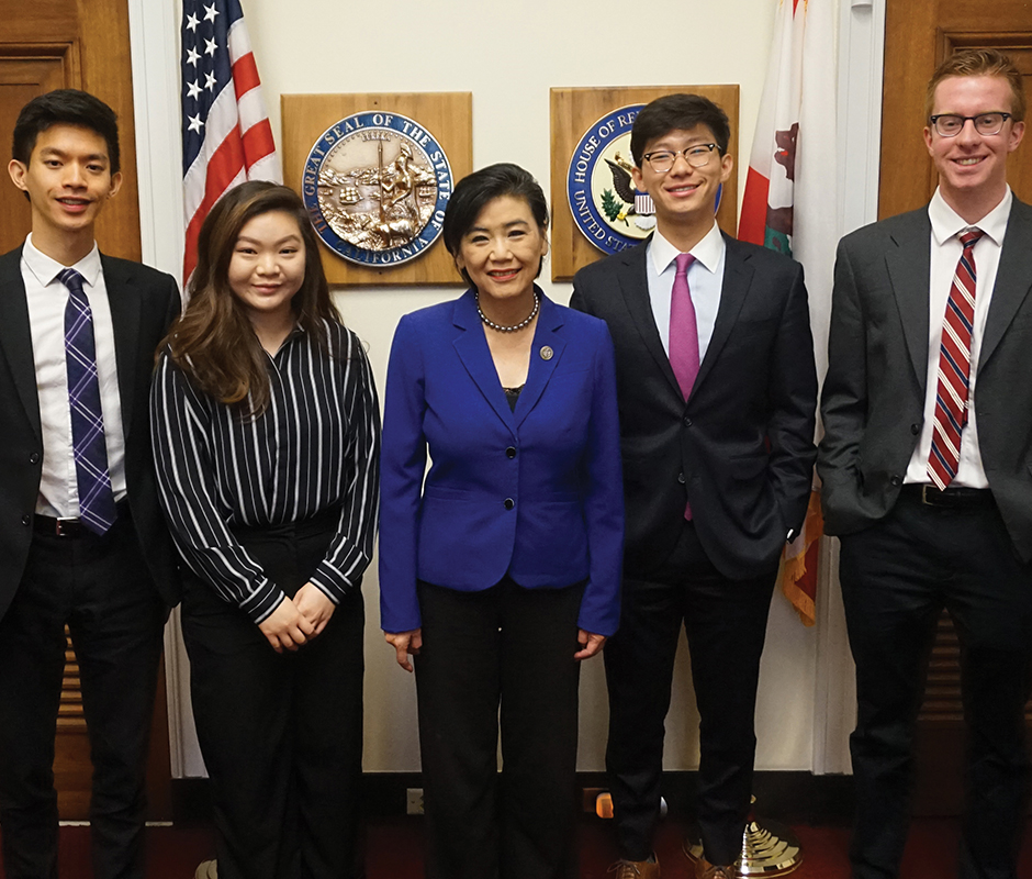 Crystal with Congresswoman Chu