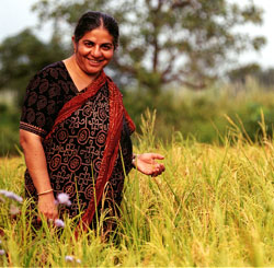 Photo of Dr. Vandana Shiva