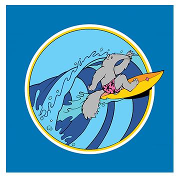 anteater surfer
