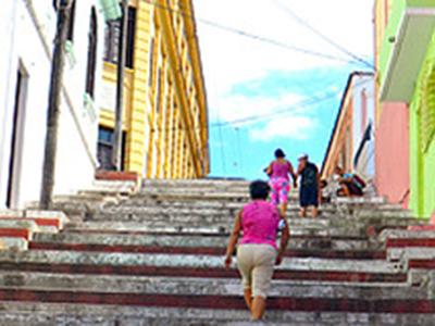 Steps in Cuban Street