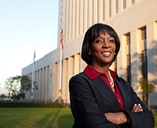 In recognition of Black History Month, District Attorney Jackie Lacey '79 reflects on education, careers