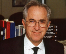 Founding faculty member and second chancellor at UCI never lost his interest in learning