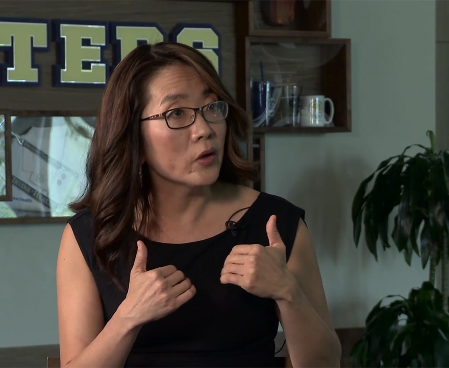 Jenny Doh, political science '91 and past president of the UCI Alumni Association, reflects on her time as an Anteater