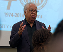 """Social sciences emeritus professor Joseph White, considered the """"godfather of black psychology,"""" reflects on his 60-year career championing the rights of blacks"""