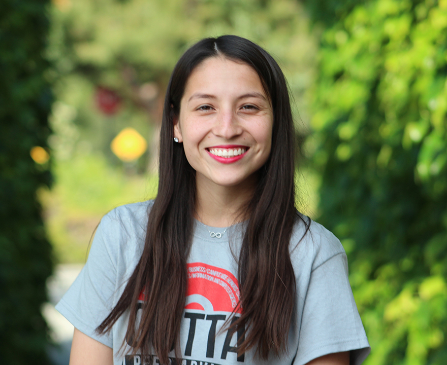 Poli sci student and 2017 School of Social Sciences commencement speaker has made it her mission to fight for immigrant rights