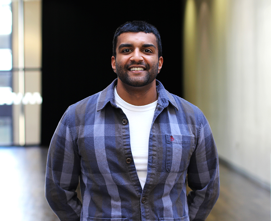 UCI helped Marine Corps veteran Advaith Thampi find his path after military life