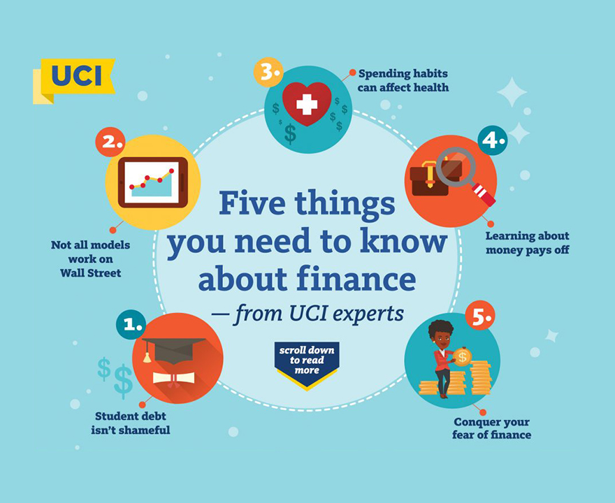 In honor of Financial Literacy Month, UCI professors from anthropology, economics, English, LPS and business share what they know