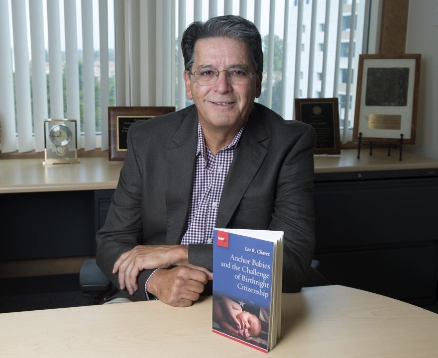 Anthropology professor Leo R. Chavez's new book explores birthright citizenship