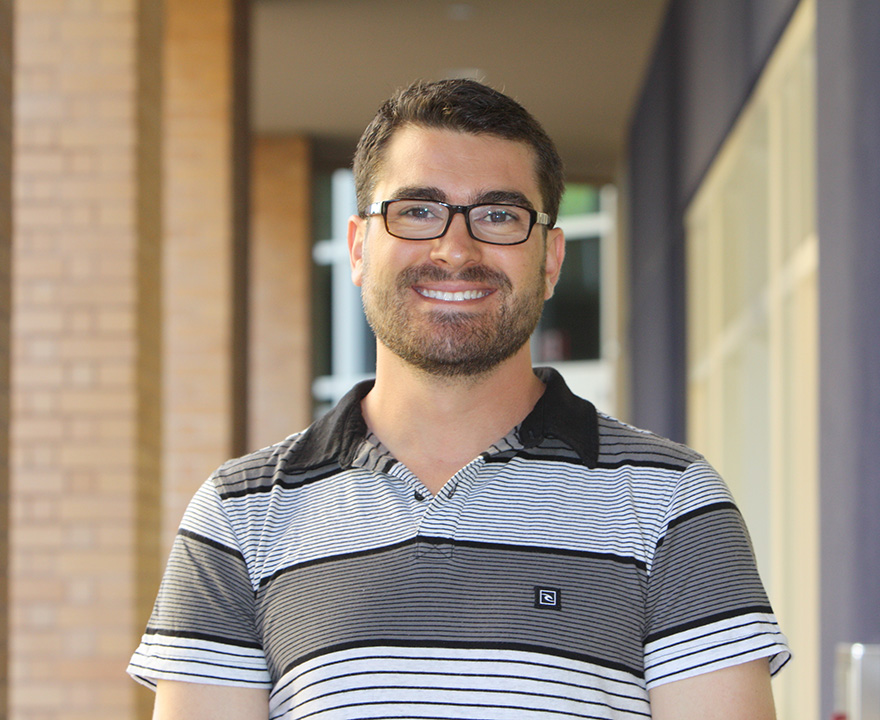 Political science grad student Marcos Scauso named Kathy Alberti award winner