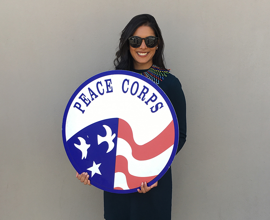 Anteater alumna Nikita Patel left a comfortable job to volunteer with the Peace Corps in South Africa - now she's ready to make change here at home