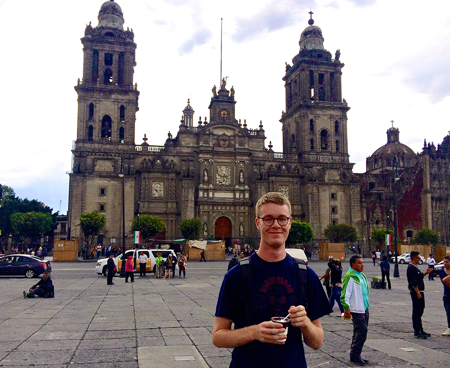 Sociology grad student will continue research on growth machine politics in Mexico City, thanks to the National Science Foundation's GRFP