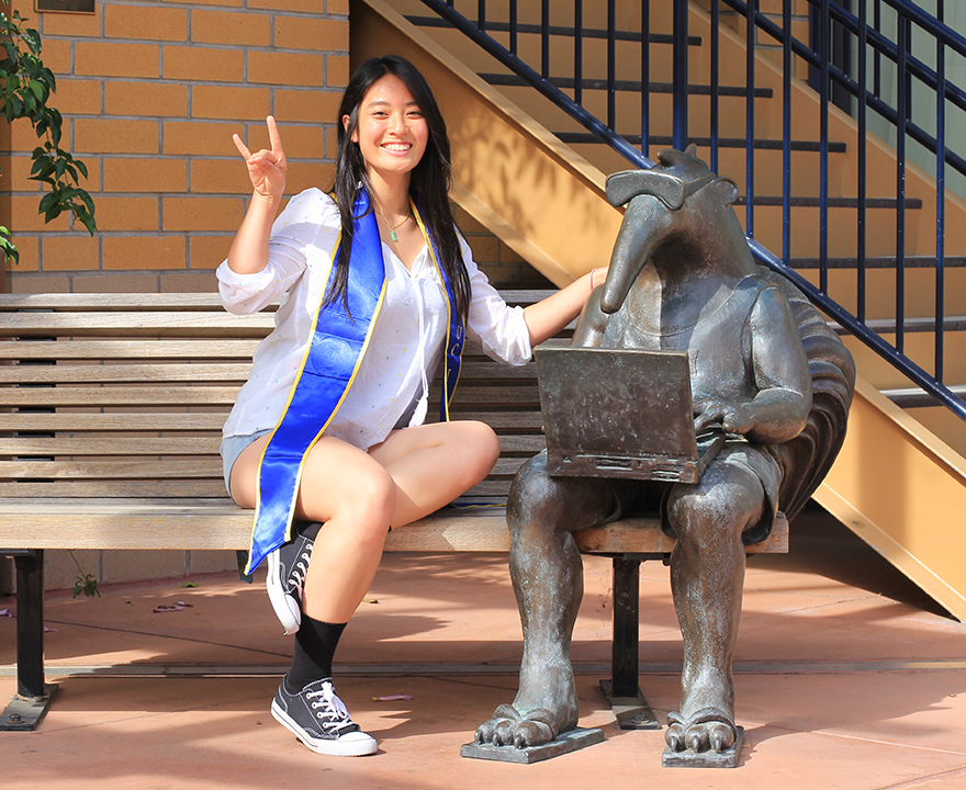 Social policy and public service soon-to-be alumna Shirley Loi plans to make a career out of her passion for helping others