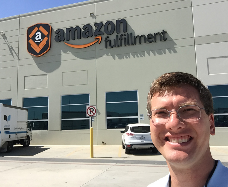 How a haunted house competition at Mesa Court helped UCI alumnus Ben Bohr, political science and global studies '09, rise to his role as Senior Operations Manager at Amazon