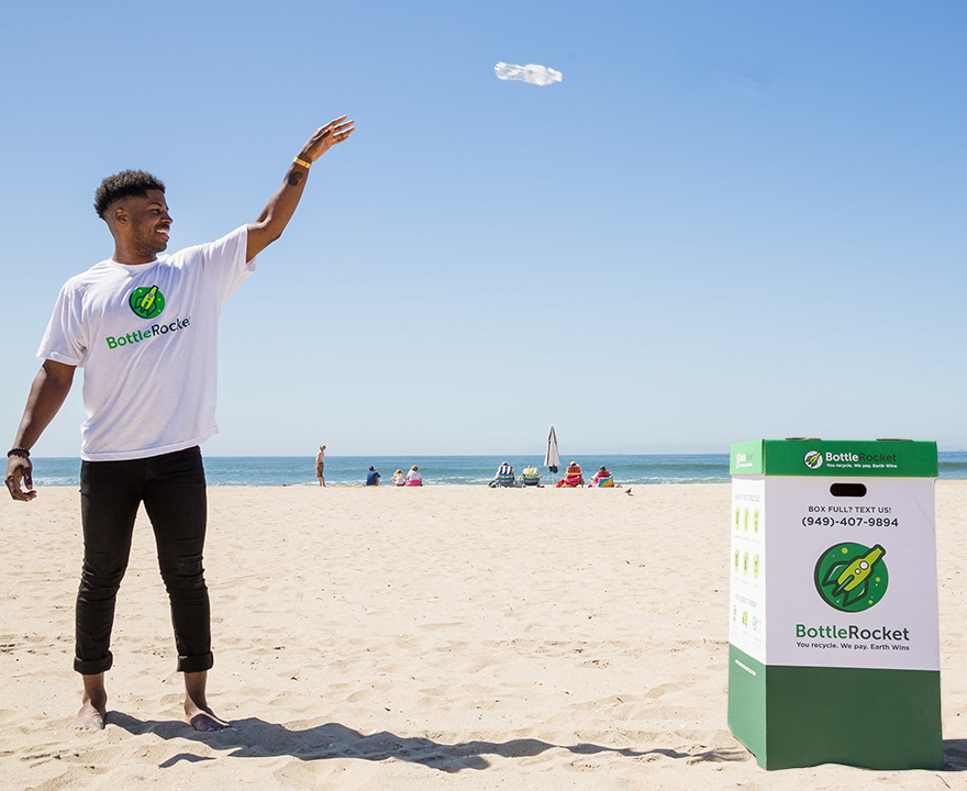 Born and bred at UCI, BottleRocket is changing the way people recycle
