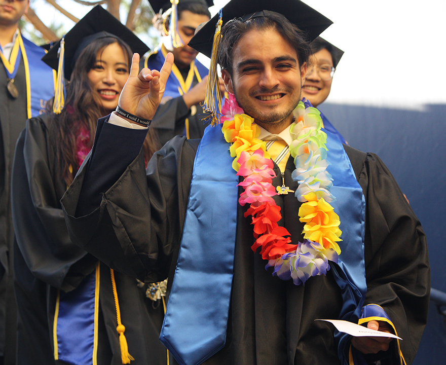 Check out photos from soc sci, Order of Merit and Raza commencement ceremonies