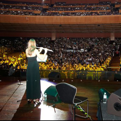 performing at sydney opera house
