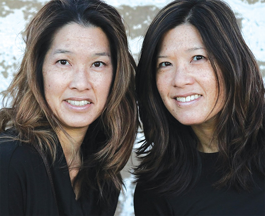 Kirsten (Gee) Maeda '89, UCI economics and Deidre (Gee) Baptista '90, UCI social ecology are lobbying for change