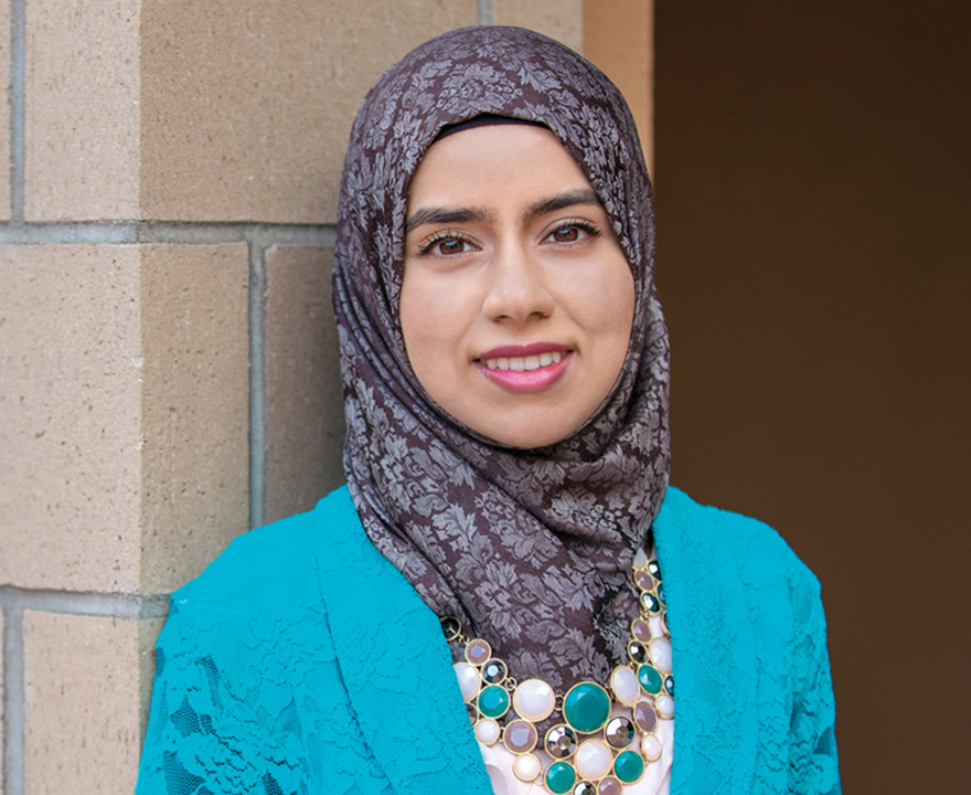 '18 Lauds and Laurels Outstanding Undergrad Iman Siddiqi, political science, will cap off an extraordinary undergrad career by addressing a stadium of her peers as a 2018 School of Social Sciences commencement speaker
