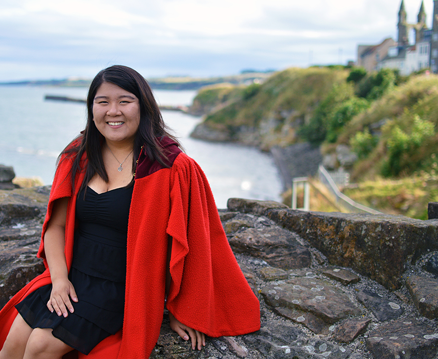 Samantha Ku, '18 political science, is pursuing her lifelong dream of being a diplomat