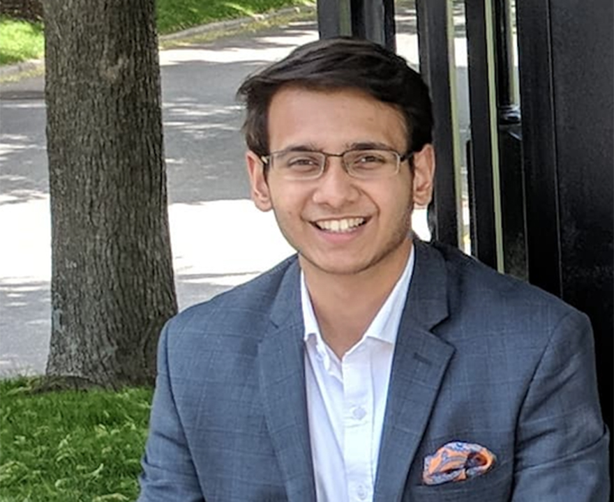 UCI triple major Raj Parekh earns award for campus involvement