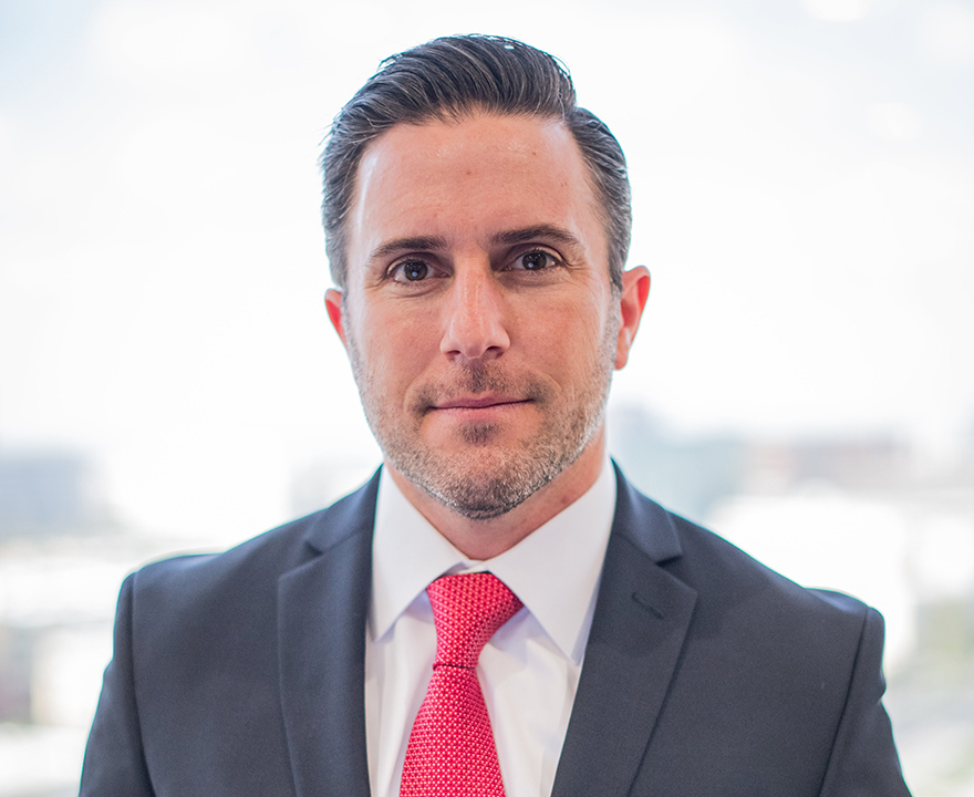 Matthew Stein, '00 political science and cofounder of Law and Stein, LLP