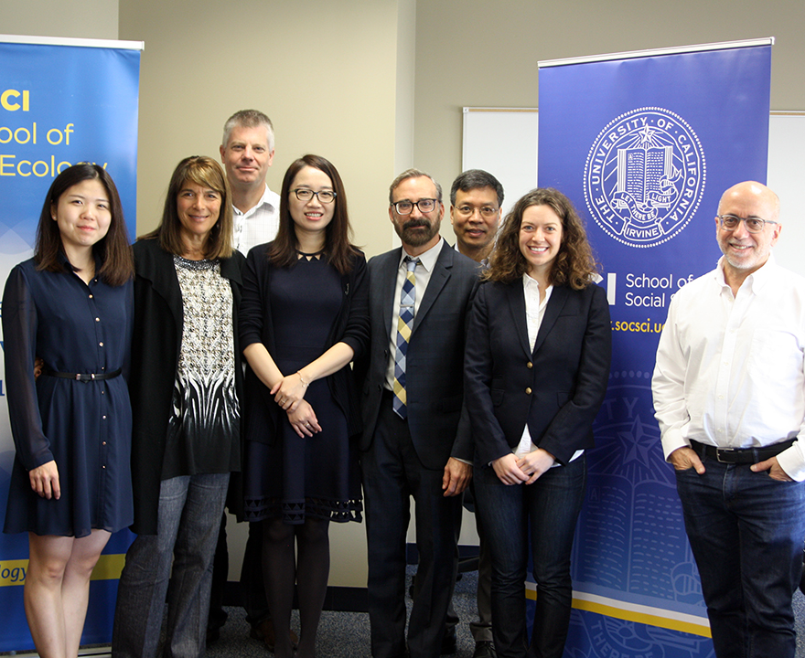 Researchers from UCI and China lay the groundwork for a joint institute to tackle cognitive health issues related to an aging population