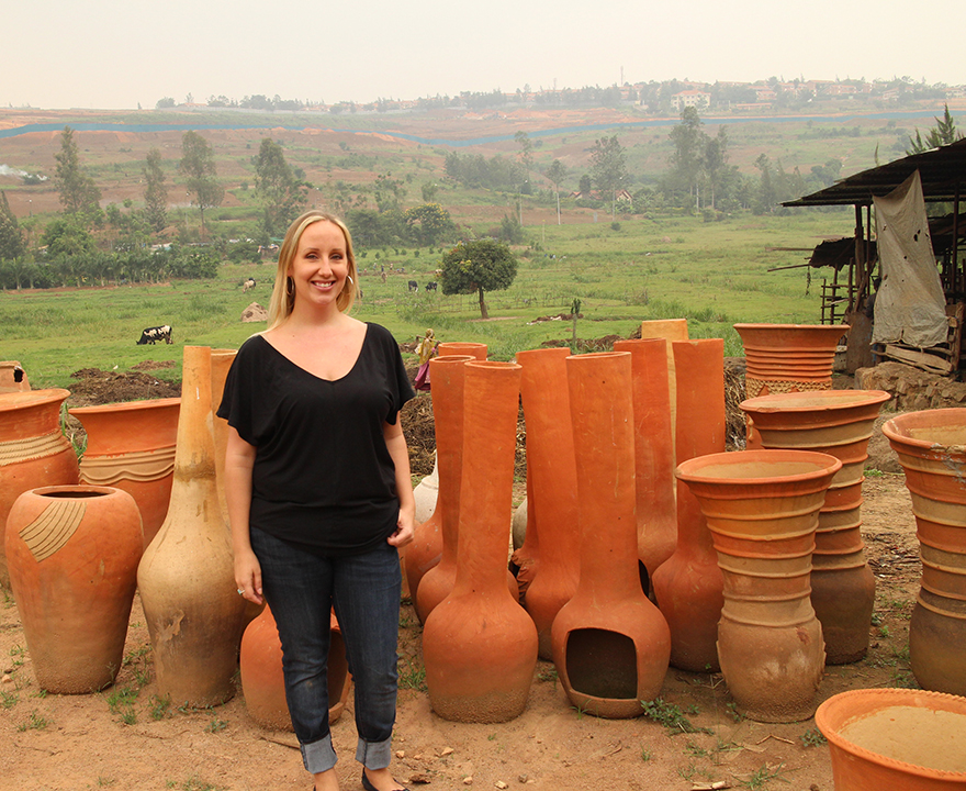 A prestigious Fulbright Hays grant will allow anthropology Ph.D. student Anna Kamanzi to continue her fieldwork in Africa