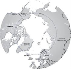 artic map