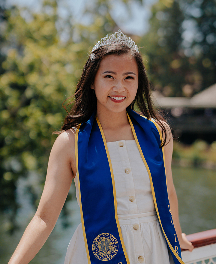 Joyce Nguy, undergrad, in the Daily Pilot, June 13, 2019