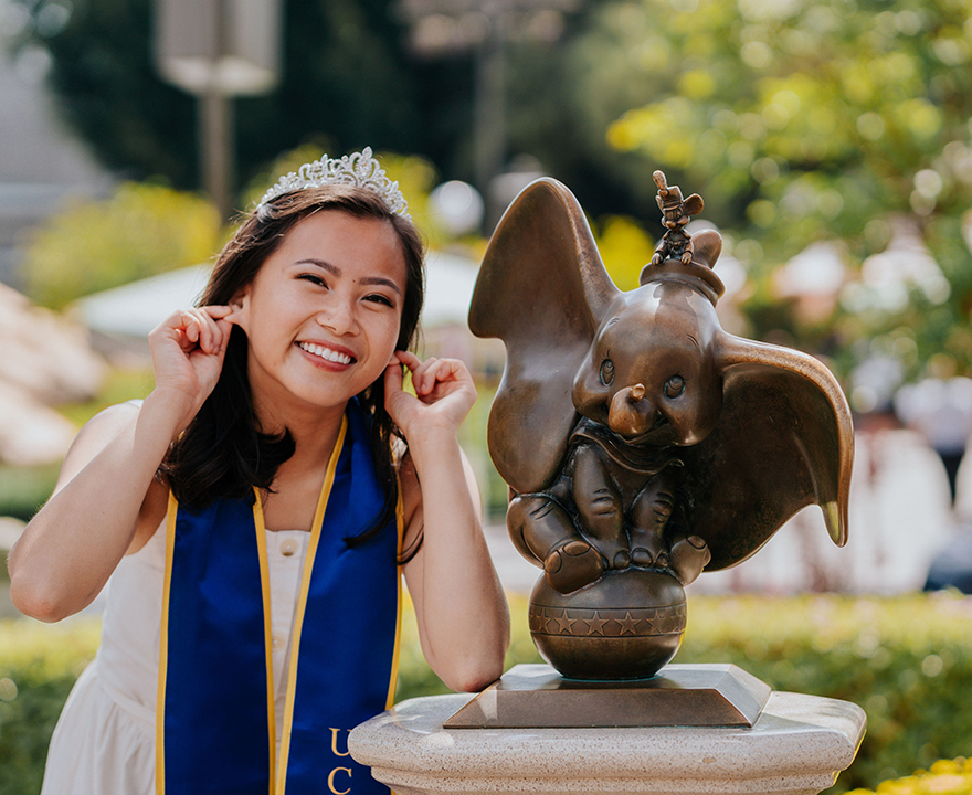 Fulbright scholar Joyce Nguy, '19 political science and education, finds that personal connections have made all the difference