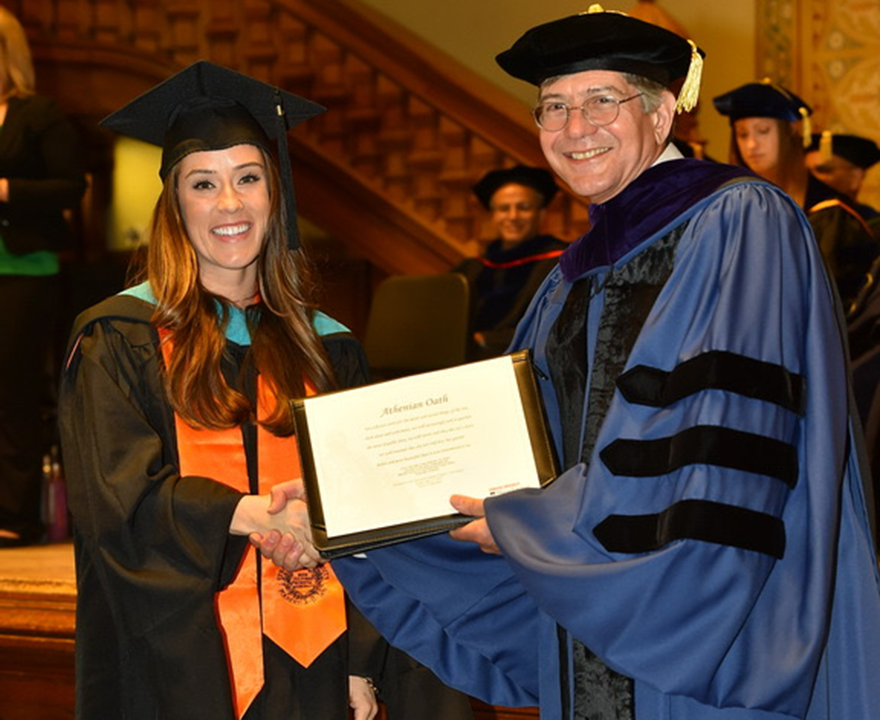 Keely Hanson, political science '11, uses research and empathy to make her mark