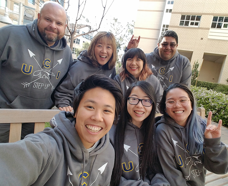Soc sci team logs more than 7-million steps in UCI walking challenge