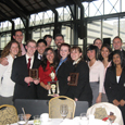 Photo of Mock Trial team