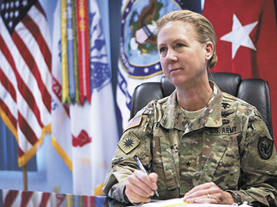 Major General Laura Yeager