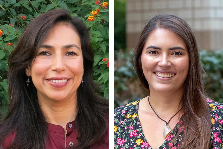 Belinda Campos and Amanda Acevedo