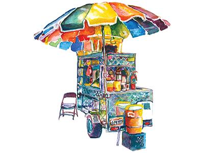 Street Vending Cart